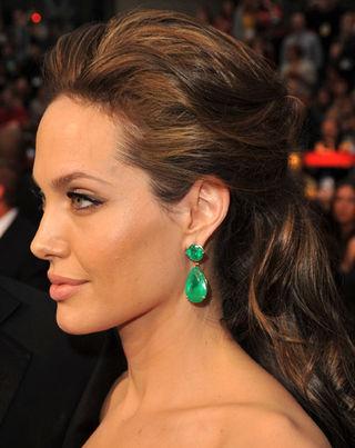 angelina jolie face profile. Angelina Jolie Face
