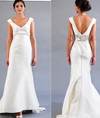 Peter Langner - Beautiful Bows - Runway Report- Spring 2010 - Fashion - InStyle Weddings_1245654244442