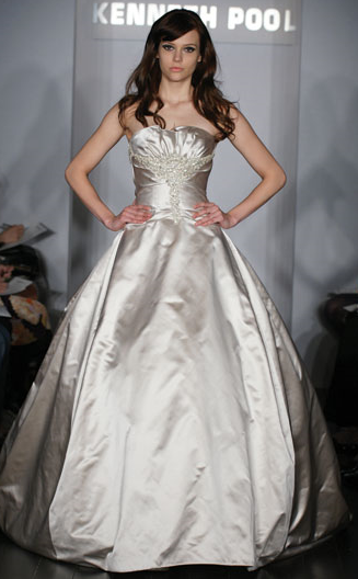 Kenneth Pool Wedding Gown_1245655026838