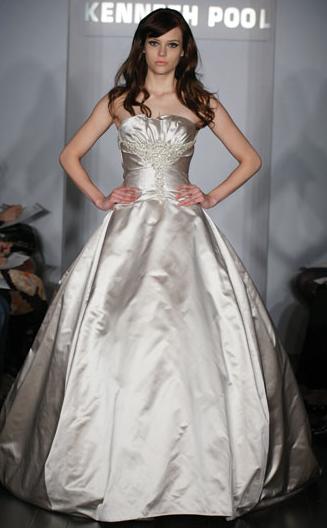 Kenneth Pool Wedding Gown_1245655026838