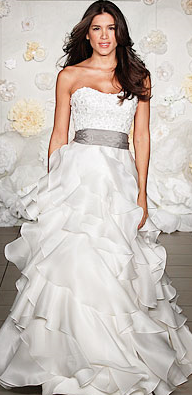 Jim Hjelm - Top 25 Gowns - Runway Report- Spring 2010 - Fashion - InStyle Weddings_1245654550099