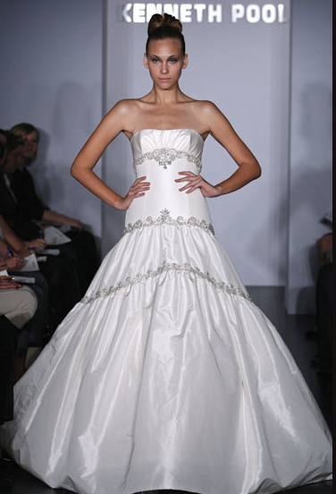 Kenneth Pool Wedding Gown_1245654984231