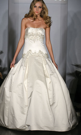 Kenneth Pool Wedding Gown_1245655045795
