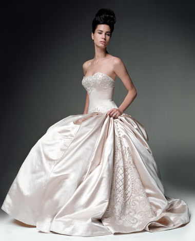 Kenneth Pool Wedding Gown_1245655328075